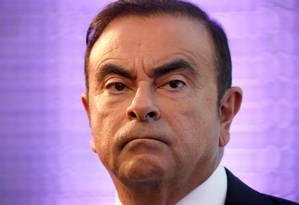 Carlos Ghosn: mais suspeitas sobre executivo Foto: Charles Platiau / REUTERS