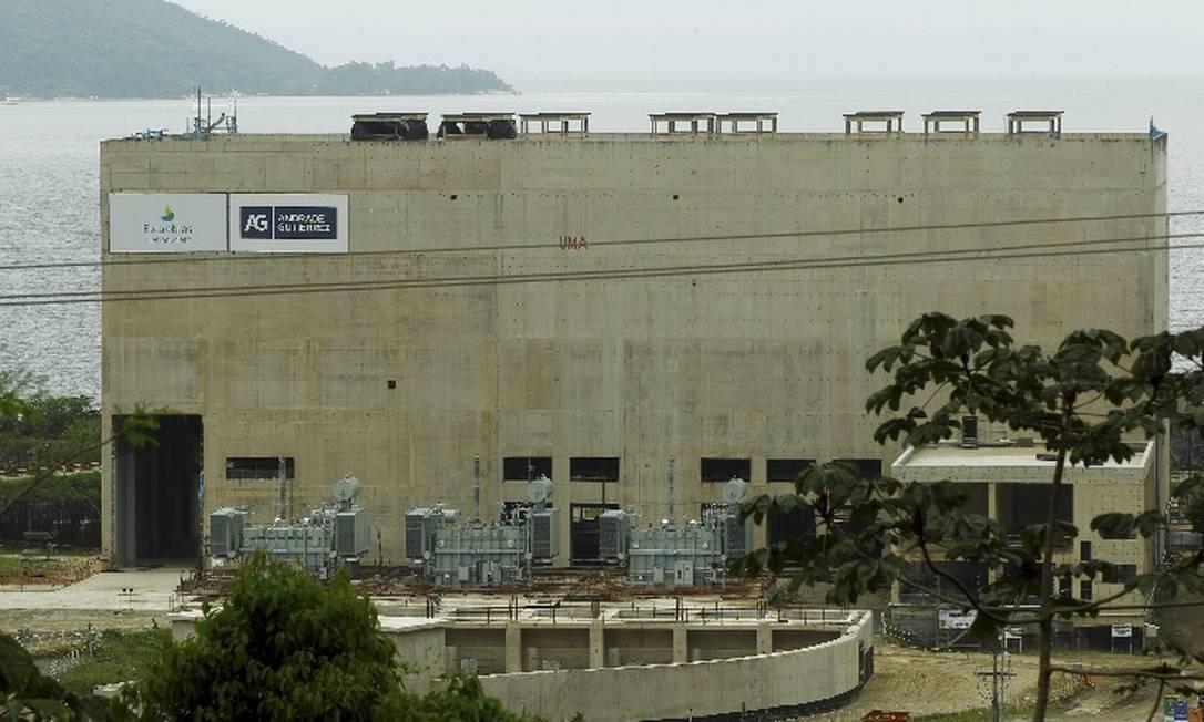 Usina de Angra 3 em construção Foto: / Gabriel de Paiva - Agência O Globo