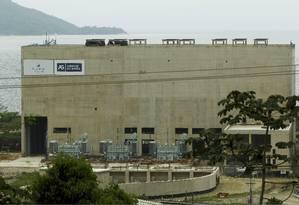 Usina de Angra 3 em construção Foto: Gabriel de Paiva - Agência O Globo
