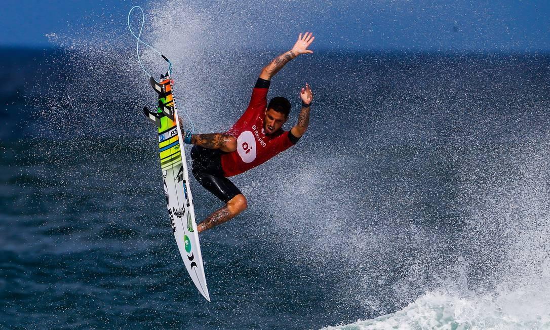 18 /05/2018 World Surf League / Rio Pro em Saquarema 2018. Na foto, o campeão Felipe Toledo. Foto: MARCELO REGUA / Agência O Globo