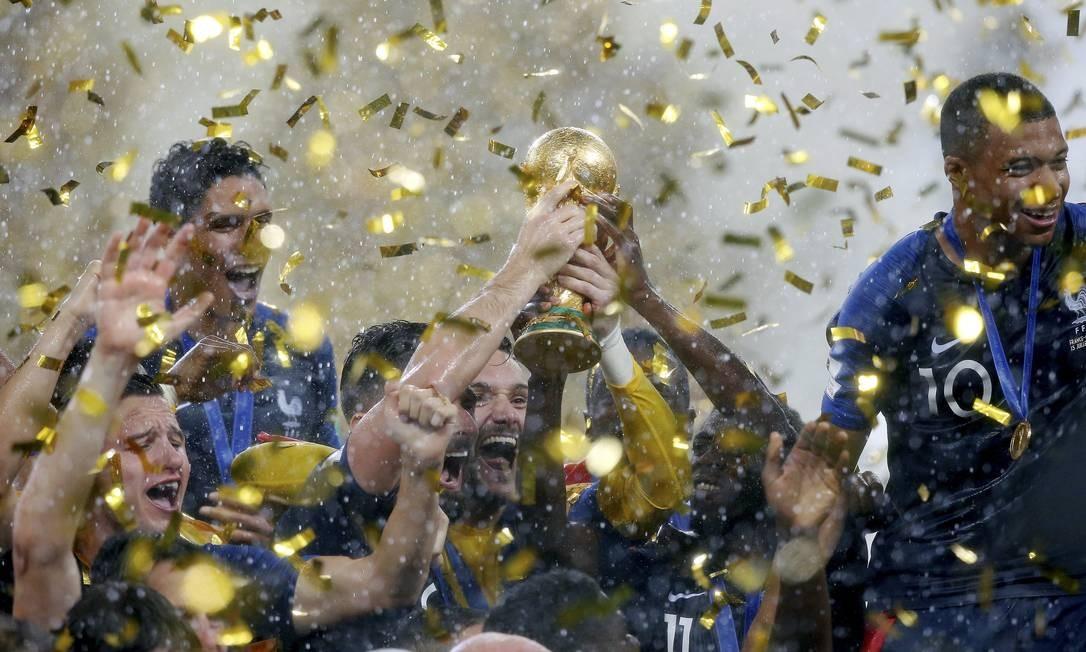 Moscou (Rússia) 15/07/2018 Copa do Mundo da Rússia 2018. Final. França vence a Croácia por 4 a 2 e é campeã Foto: Marcelo Theobald / Agência O Globo