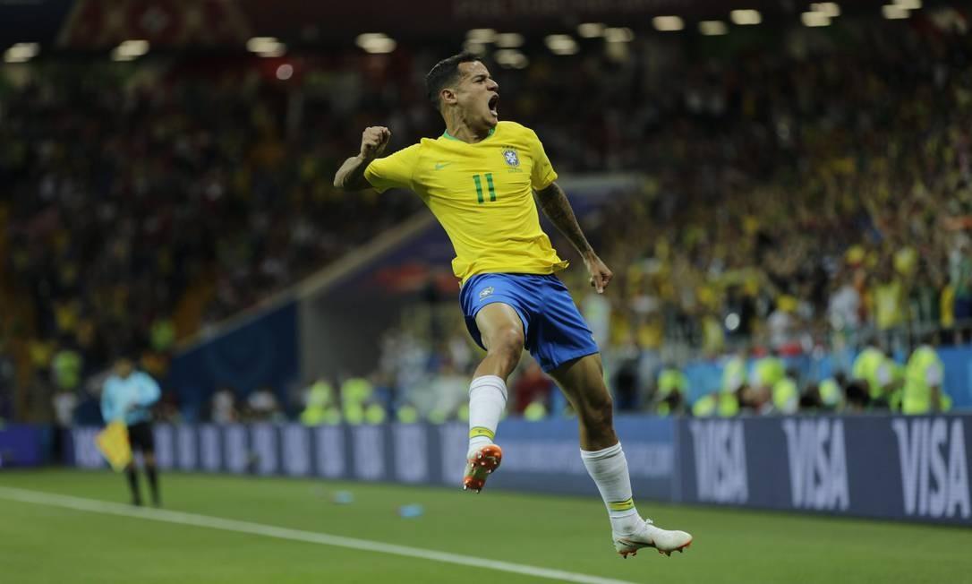 17/06/2018 - Copa do Mundo da Russia 2018 - Jogo entre Brasil x Suica na Arena Rostov. Foto: Alexandre Cassiano / Agência O Globo
