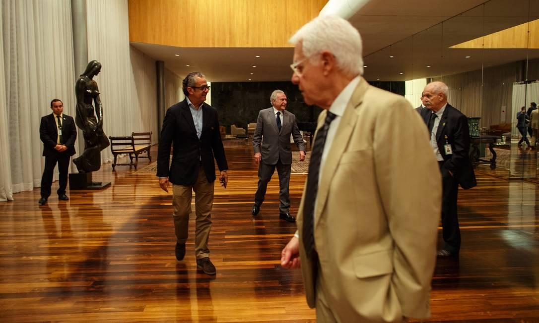 O presidente Michel Temer concede entrevista exclusiva a revista Epoca. Foto: Daniel Marenco / Agência O Globo