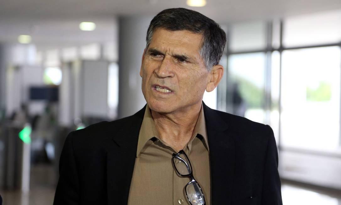 O futuro ministro da Secretaria de Governo, o general da reserva Carlos Alberto dos Santos Cruz 27/05/2018 Foto: Givaldo Barbosa / Agência O Globo