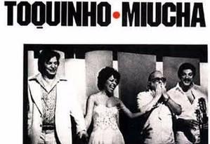 Capa do disco Tom Vinicius Toquinho Miucha - Gravado Ao Vivo no Canecão (1977) Foto: Reprodução