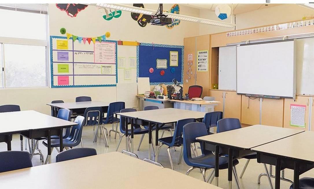 Sala vazia: ampliação de disciplinas a distância diminui gastos, mas pode comprometer qualidade dos cursos Foto: Shutterstock.com/Monkey Business Images