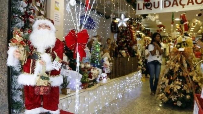 Lojas aproveitam a última semana de dezembro para realizar liquidação de queima de estoque Foto: Arquivo