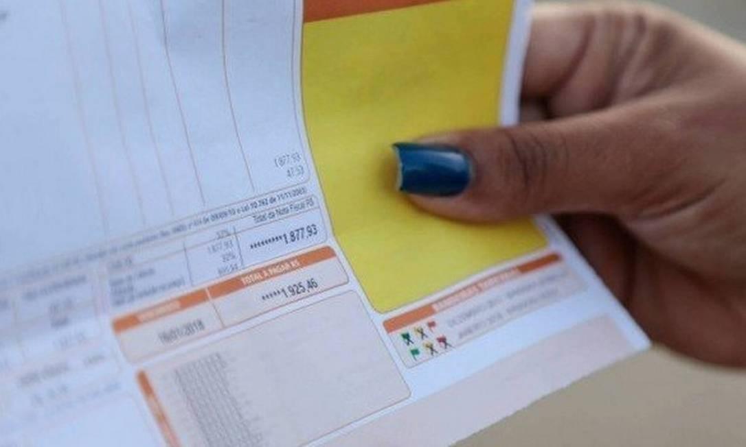 Descontos são bancados por todos os consumidores nas contas de luz Foto: / Arquivo-Agência O Globo
