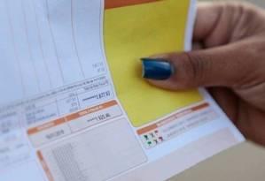 Descontos são bancados por todos os consumidores nas contas de luz Foto: Arquivo-Agência O Globo