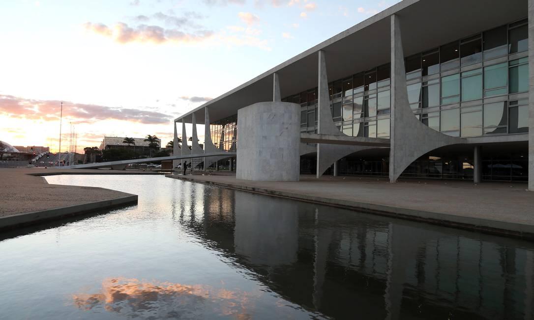 O Palácio do Planalto Foto: Givaldo Barbosa / Agência O Globo