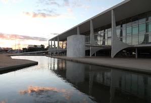 O Palácio do Planalto, local de trabalho do futuro presidente Jair Bolsonaro a partir de 1º de janeiro Foto: Givaldo Barbosa / Agência O Globo