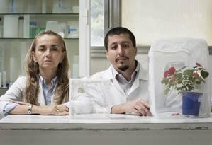 Sem recursos, Georgia Atella foi obrigada a suspender um estudo sobre a alimentação do 'Aedes aegypti' e sofreu baixas na equipe, como a saída do pesquisador de pós-doutorado Rodrigo Nunes, que se mudou para os EUA Foto: Fernando Lemos/23-06-2017