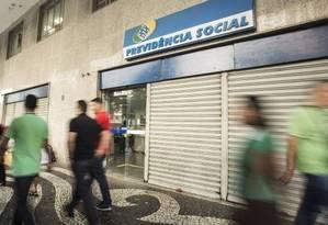 Reforma da Previdência deve incluir modelo de capitalização Foto: Ana Branco- Agência O Globo