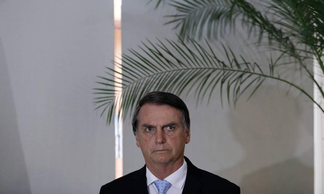 O presidente eleito, Jair Bolsonaro 28/12/2018 Foto: LEO CORREA / AFP