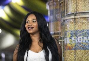 Importada de São Paulo: depois da consagração na Vai-Vai, alvinegra do Bixiga, Grazzi Brasil vai estrear na Sapucaí defendendo o samba da Paraíso do Tuiutí Foto: Ana Branco / Agência O Globo