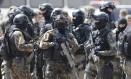 Militares fazem ensaio para a posse de Jair Bolsonaro, em Brasília Foto: Jorge William / Agência O Globo