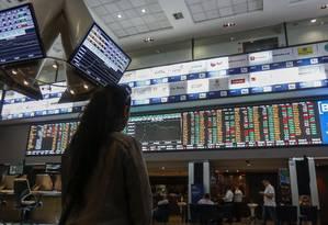 Ano foi marcado pela volatividade, mas algumas empresas alcançaram forte valorização Foto: MIGUEL SCHINCARIOL / Agência O Globo