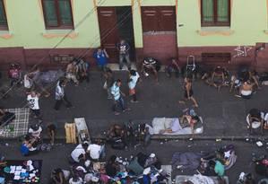Cracolândia de São Paulo tem população flutuante entre 600 e 900 pessoas 04/05/2018 Foto: Edilson Dantas / Agência O Globo