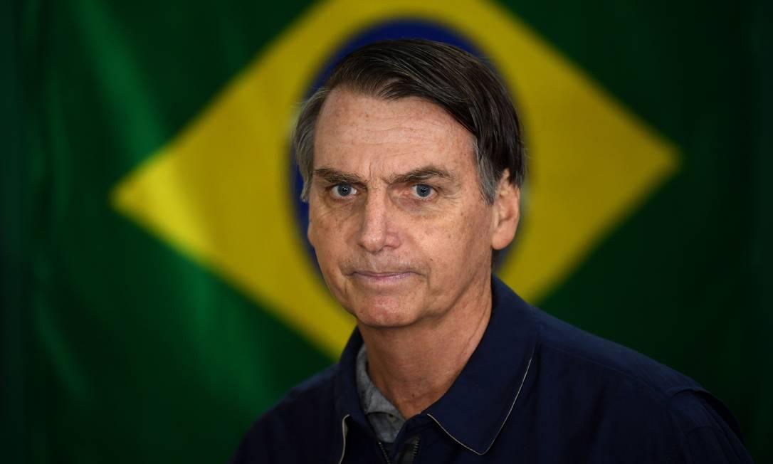 O presidente eleito, Jair Bolsonaro (PSL) Foto: Mauro Pimentel / AFP