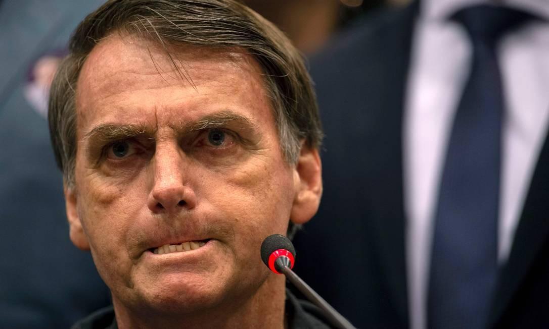 O presidente eleito afirmou que combater o marxismo será uma das estratégias para melhorar a educação do Brasil Foto: Mauro Pimentel / AFP