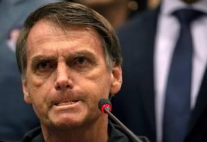 O presidente eleito afirmou que combater o marxismo será uma das estratégias para melhorar a educação no Brasil Foto: Mauro Pimentel / AFP