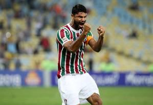 Zagueiro Gum Foto: Lucas Merçon / Fluminense