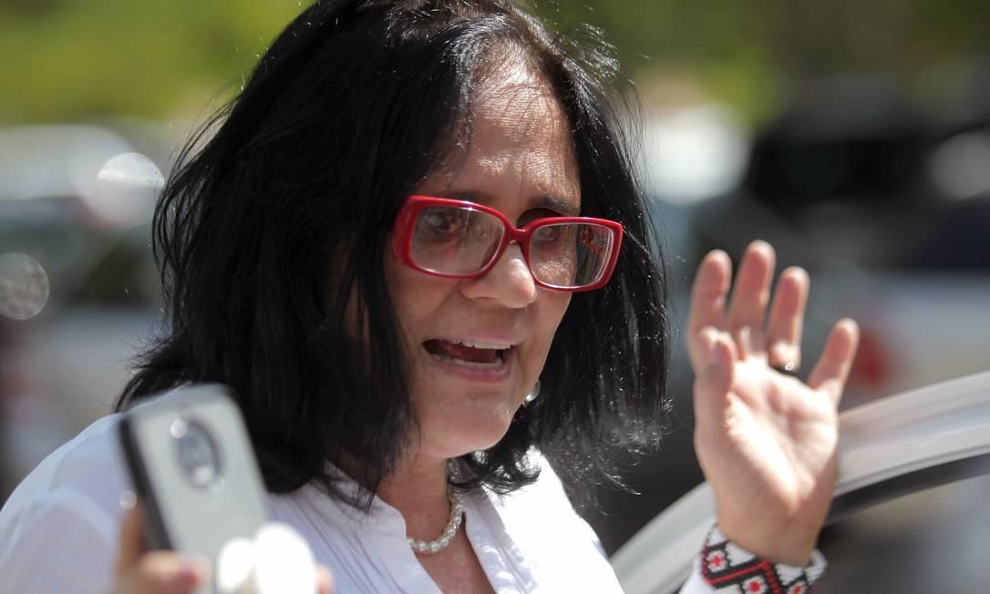 A atual ministra da Mulher, Família e Direitos Humanos, Damares Alves Foto: Jorge William / Agência O Globo/11-12-2019
