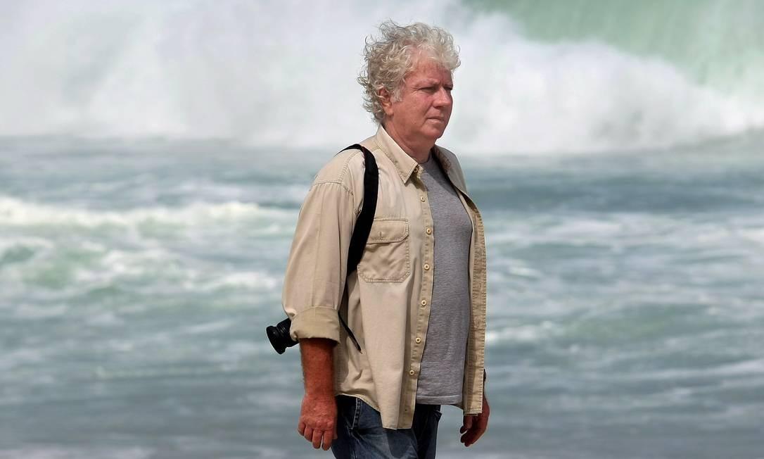 O fotógrafo Carlos Filho, conhecido com Cafi, em 2011 Foto: Ana Branco / Agência O Globo