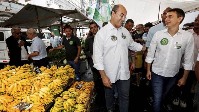 Pedro Fernandes foi candidato ao governo e depois apoio Witzel no segundo turno das eleições Foto: Marcos Ramos / 15.10.2018 / Agência O Globo