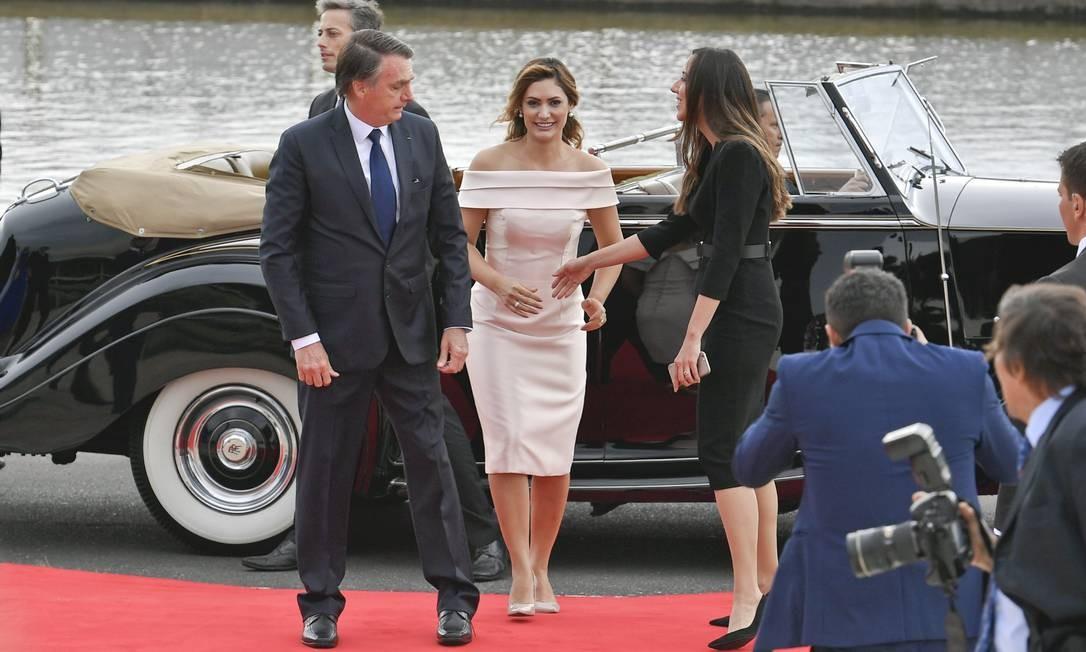 O vestido foi inspirado nas icônicas Grace Kelly e Jackie Kennedy Geraldo Magela/Agência Senado