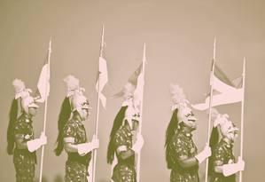 Dragões da Independência Foto: CARL DE SOUZA / AFP