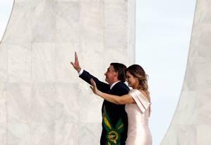 Posse do presidente Jair Bolsonaro Foto: Pablo Jacob / Agência O Globo