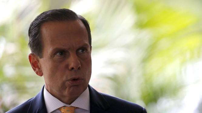 O governador de São Paulo, João Doria, Foto: Jorge William / Agência O Globo