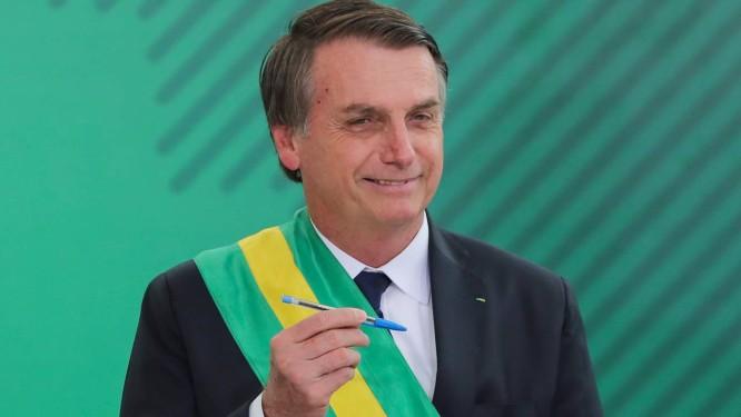 Presidente Jair Bolsonaro Foto: SERGIO LIMA / AFP