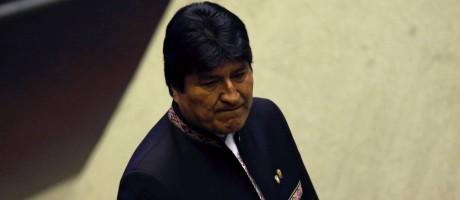 Evo Morales acompanha posse de Jair Bolsonaro Foto: ADRIANO MACHADO / REUTERS