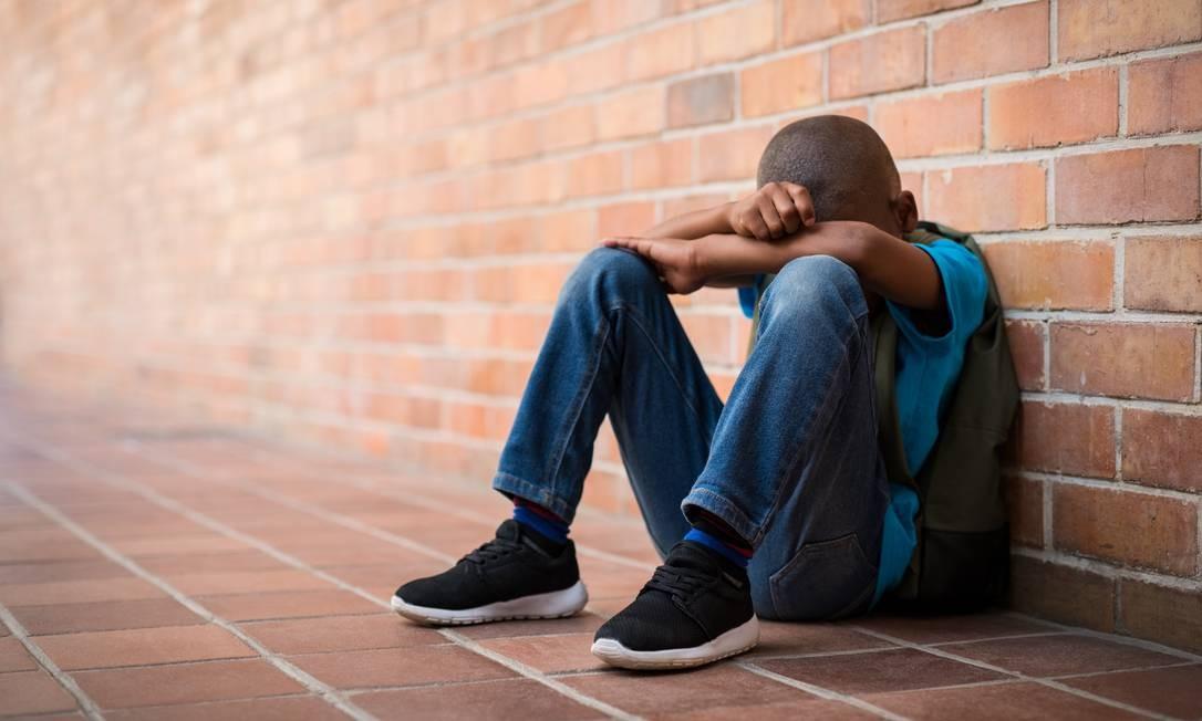 Estudantes deprimidos são cada vez mais comuns Foto: Shuterstock.com