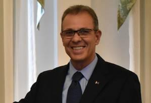 Almirante Bento Albuquerque foi indicado para o Cargo de Ministro de Estado de Minas e Energia por meio das redes sociais de Jair Bolsonaro Foto: Terceiro / Agência O Globo