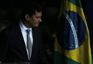 Sérgio Moro: caso de Brumadinho, em tese, foi culposo Foto: Jorge William / Agência O Globo