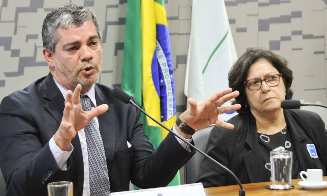 Marcos Troyjo participa de audiência na Comissão de Relações Exteriores do Senado Foto: Geraldo Magela/Agência Senado/29-10-2015