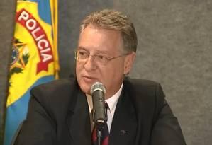 O presidente do Coaf, Roberto Leonel Foto: Reprodução/TV Globo