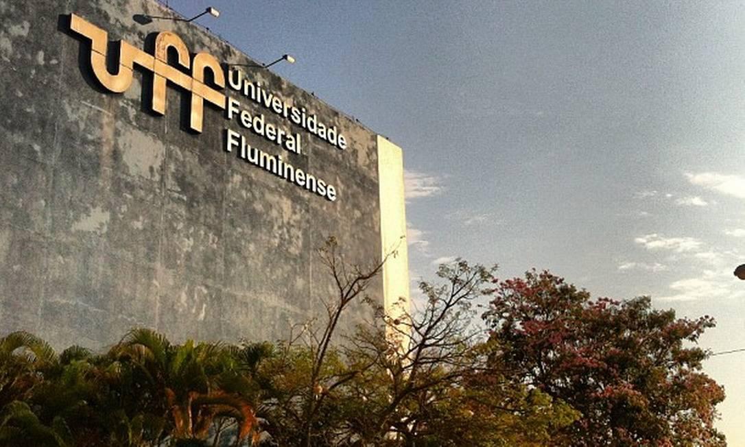 Prédio da Universidade Federal Fluminense (UFF) Foto: Divulgação/UFF