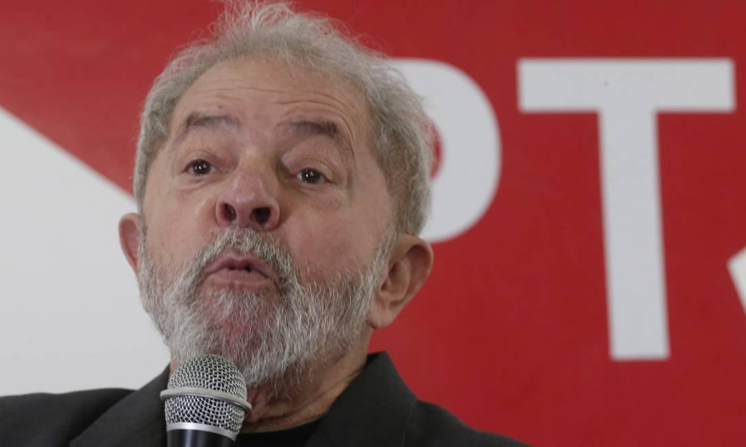 O Ex-presidente Luiz Inácio Lula da Silva 20/05/2017 Foto: Marcos Alves / Agência O Globo