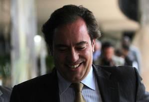 O presidente da Caixa, Pedro Guimarães Foto: Jorge William / Agência O Globo