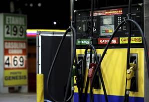 Venda de etanol em posto do Rio de Janeiro Foto: Marcelo Theobald/Agência O Globo/14-08-2018