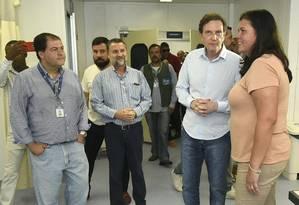 Unidade, com capacidade para atender até 9 mil pacientes por mês estava fechada desde o dia 11 de novembro do ano passado Foto: Richard Santos / Divulgação / Prefeitura do Rio