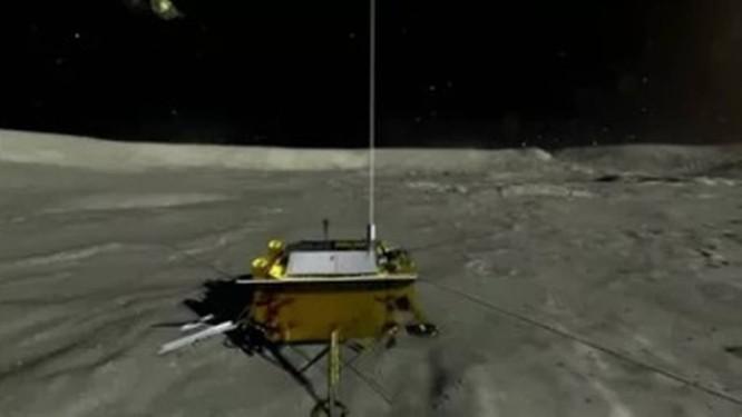 China consegue administrar pouso inédito de uma sonda na Lua Foto: Reprodução da internet