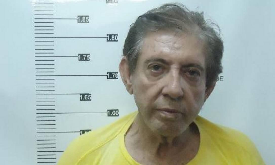 João de Deus, no complexo prisional onde está encarcerado desde 16 de dezembro Foto: Reprodução / Agência O Globo