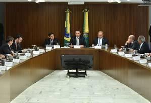 A primeira reunião ministerial foi realizada na semana passada Foto: Rafael Carvalho / Ascom Casa Civil