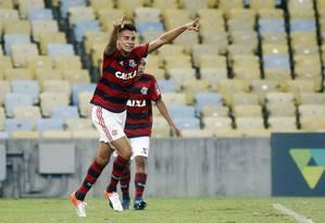 Reinier é um dos destaques da base do Flamengo Foto: Staff Images/Flamengo/Divulgação