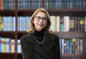 Angela Gandra, advogada contrária á descriminalização do aborto no Brasil Foto: Edilson Dantas / Agência O Globo/01-08-2018